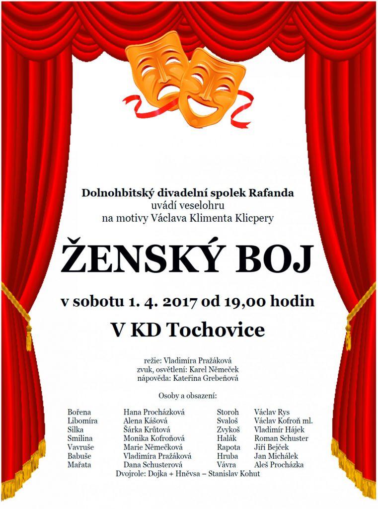 Václav Kliment Klicpera - ŽENSKÝ BOJ 1