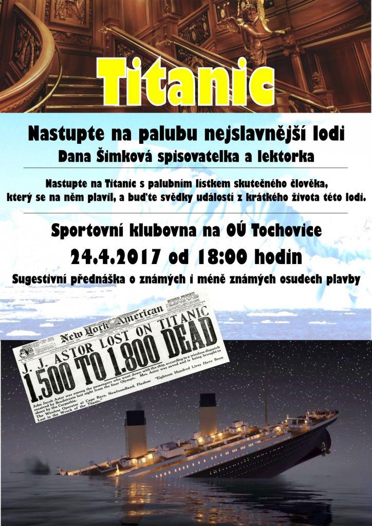 Přednáška TITANIC 1